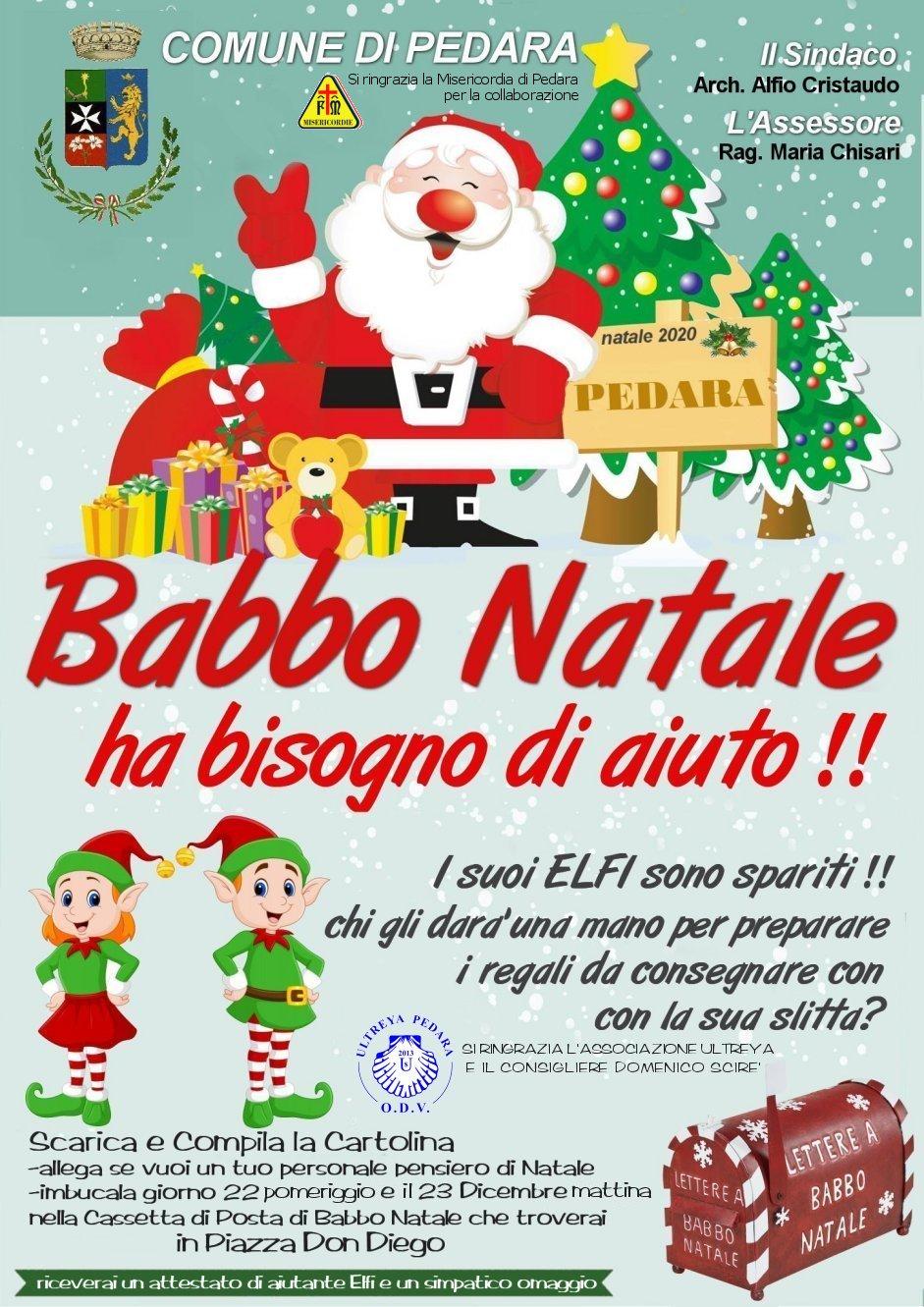 Sito Ufficiale Di Babbo Natale.Comune Di Pedara Sito Ufficiale