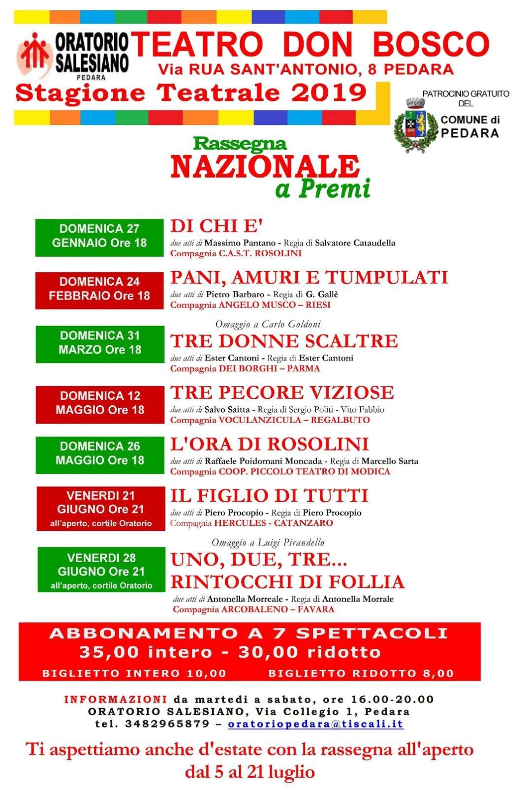 Comune di pedara sito ufficiale for Sito parlamento italiano